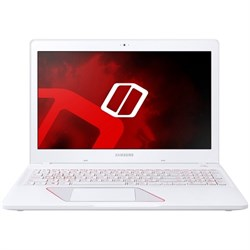 "Samsung Notebook Odyssey Traditional Laptop, Storm White, 15.6"" (NP800G5M-X02US)"
