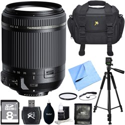 Tamron 18-200mm Di II VC All-In-One Zoom Lens for Nikon M...