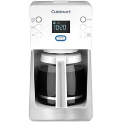 Cuisinart Perfec Temp 14-Cup Programmable Coffeemaker, White - Factory Refurbished CUIDCC2800WFR