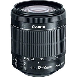 Canon EF-S 18-55mm f/3.5-5.6 IS STM Lens WHITE BOX with USA warranty