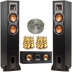 Klipsch R-24F Dual 4.5-inch Floorstanding Speaker w/ Cent...