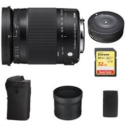 Sigma 18-300mm F3.5-6.3 DC Macro OS HSM Lens Contemporary...