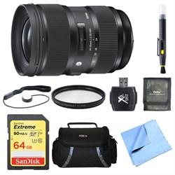 Sigma 24-35mm F2 DG HSM Standard-Zoom Lens for Nikon 64GB...