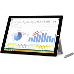 Microsoft Surface Pro 3 intel Core i5-4300U 128GB 12 Inch Tablet Computer
