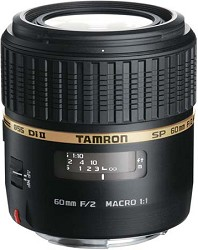Tamron SP AF60mm F2 Di II LD (IF) 1:1 Macro Lens for Cano...
