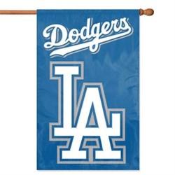 Party Animal Dodgers Applique Banner Flag PARAFLAD