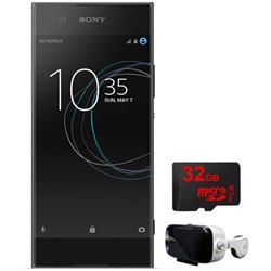Sony XA1 16GB 5-inch Smartphone Unlocked Black w/ 32GB + ...