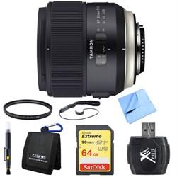Tamron SP 35mm f/1.8 Di VC USD Lens for Nikon Mount 64GB ...