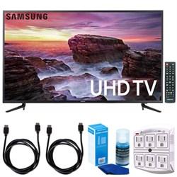 "Samsung 58"" Smart MU6100 Series LED 4K UHD TV w/ Wi-Fi + ..."