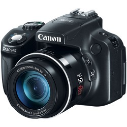 Canon Powershot SX50 HS 12.1 MP Digital Camera - Black