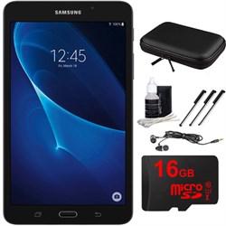 "Samsung Galaxy Tab A Lite 7.0"""" 8GB Tablet PC (Wi-Fi) Black 16GB microSD Accessory Bundle"" E2SAMSMT280NZKAXAR"