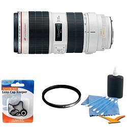 Canon EF 70-200mm f/2.8L II IS USM Telephoto Zoom Lens wi...