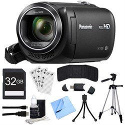Panasonic HC-V380K Full HD Camcorder with Wi-Fi Multi Scene Twin Camera + 32GB SDHC Kit