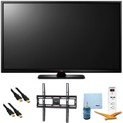 LG 60PB6900 - 60-Inch Plasma 1080p 600Hz Smart 3D HDTV Plus Mount & Hook-Up Bundle