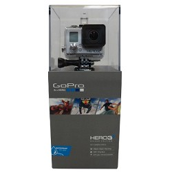 GoPro Camera HD HERO3+: Silver Edition
