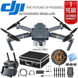 DJI Mavic Pro Quadcopter Drone with 4K Camera and Wi-Fi D...