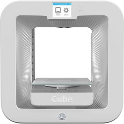 3D Systems Cube 3D Printer Base - White