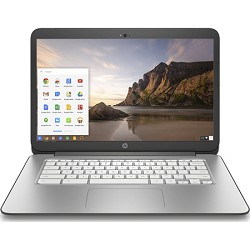 Hewlett Packard Chromebook 14-x010nr 14 Laptop - New Version - Snow White