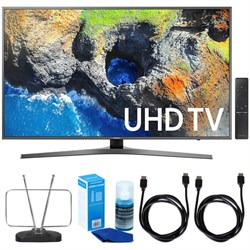 "Samsung 54.6"" 4K Ultra HD Smart LED TV (2017 Model) w/ TV..."