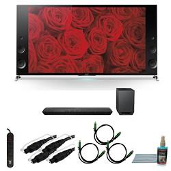 Sony XBR65X900B - 65-inch 120Hz 3D LED X900B Premium 4K Ultra HD TV Bundle