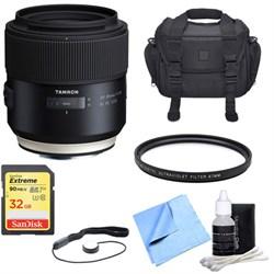 Tamron SP 85mm f1.8 Di VC USD Lens for Canon Full-Frame E...