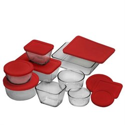 Anchor Hocking 16 Pc Kitchen Storage Set ANC92092L11