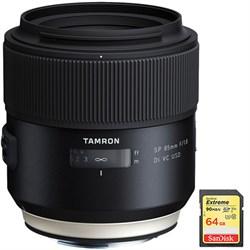 Tamron SP 85mm f1.8 Di VC USD Lens f Canon EF Mount Camer...