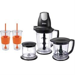 Ninja Ninja Master Prep Pro Food & Drink Mixer, Black w/ Copco Togo Cup Mug Bundle E1EUPQB1004