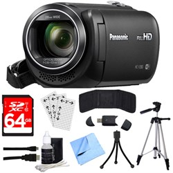 Panasonic HC-V380K Full HD Camcorder with Wi-Fi Multi Scene Twin Camera + 64GB SDXC Kit