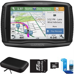 Garmin Zumo 595LM Motorcycle GPS Navigator with Accessory...