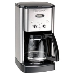 Cuisinart DCC-1200 Brew Central 12 Cup Programmable Coffeemaker (Silver) CUIDCC1200