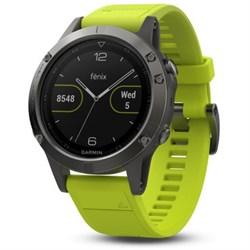 Garmin Fenix 5 Multisport 47mm GPS Watch - Slate Gray wit...