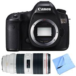 Canon EOS 5DS 50.6MP Digital SLR Camera Zoom Lens Bundle