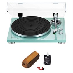 TEAC 2-Speed Analog Turntable 14-TN-300 with Cleaning Bundle