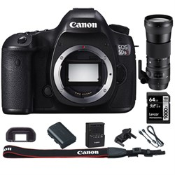 Canon EOS 5DS R 50.6MP Digital SLR Camera (Body) + 150-60...