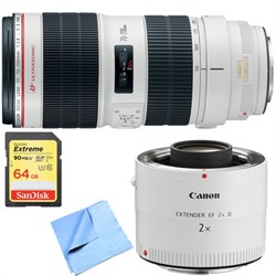 Canon EF 70-200mm f/2.8L IS II USM Telephoto Zoom Lens w/...