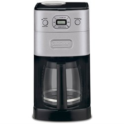 Cuisinart Refurbished DGB-625BC Grind-and-Brew 12-Cup Automatic Coffeemaker, Brushed Metal CUIDGB625BCRB