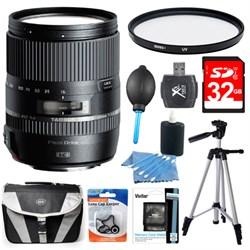 Tamron 16-300mm f/3.5-6.3 Di II VC PZD MACRO Lens Pro Kit...