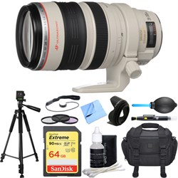 Canon EF 28-300mm IS L USM Lens Deluxe Accessory Bundle