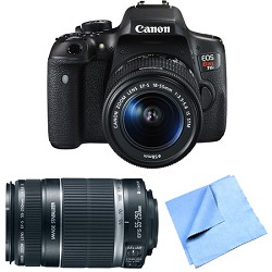 Canon EOS Rebel T6i Digital SLR Camera with EF-S 18-55mm ...
