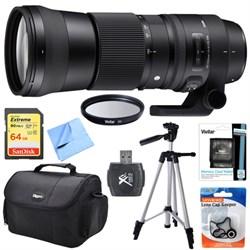 Sigma 150-600mm F5-6.3 DG OS HSM Zoom Lens (Contemporary)...