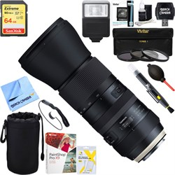 Tamron SP 150-600mm F/5-6.3 Di VC USD G2 Zoom Lens for Ca...