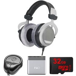 BeyerDynamic DT 880 Premium Headphones 32 OHM - 483931 w/ FiiO A1 Amp. Bundle