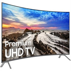 "Samsung UN55MU8500FXZA 54.6"" Curved 4K Ultra HD Smart LED..."