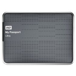 Western Digital My Passport Ultra 1 TB USB 3.0 Portable Hard Drive - WDBZFP0010BTT (Titanium)