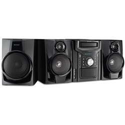 Sharp 350W 5-Disc Mini Shelf Speaker/Subwoofer System wit...