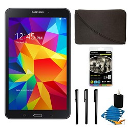 Samsung Galaxy Tab 4 Black 16GB 8 Tablet and Case Bundle