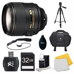 Nikon AF-S NIKKOR 105mm f/1.4E ED Lens. 32GB Card, and Ac...