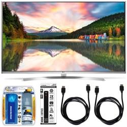 LG 65UH8500 - 65-Inch Super Ultra HD 4K Smart LED TV w/ webOS 3.0 Accessory Bundle E1LG65UH8500
