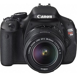 Canon EOS Rebel T3i 18mp DSLR Camera and 18-55mm Lens